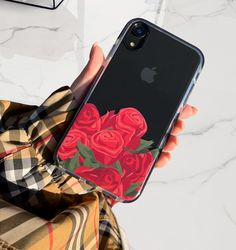 Bouquet Elemental Cases - Iphone XS - Ideas of Iphone XS for sales. - Bouquet of Roses Available for iPhone XS / X iPhone XS Max iPhone XR & iPhone 8 Plus from Elemental Cases Iphone 8, Coque Iphone, Iphone Phone Cases, Iphone Case Covers, Girly Phone Cases, Diy Phone Case, Smartwatch, Telefon Apple, Tumblr Phone Case
