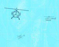 Wallcovering_(헬리콥터) M134-2