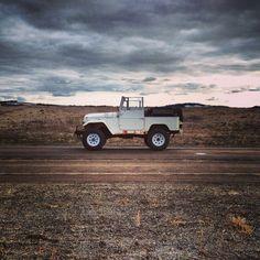 old #car in #desert