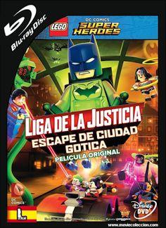 Liga de la Justicia Lego: Escape de Ciudad Gótica 2016 BRrip Latino