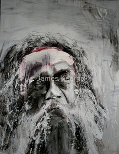 Available at Red Bubble is this art print by James Kearns titled Weary landscape.