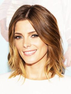 33. #Center Part - 38 Hairstyles for Thin Hair to Add #Volume and Texture ... → Hair #Respects