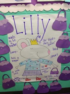 Character traits from Life In First Grade
