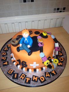 Ed Sheeran 16th birthday cake