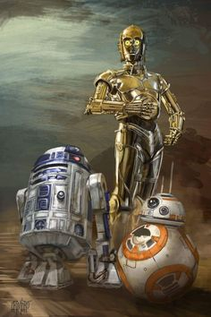 The Droids You Are Looking For by GrimbRo