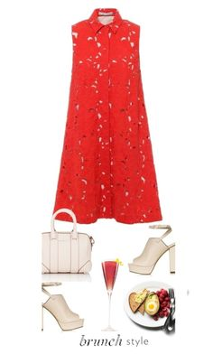 """""""Brunch with Friends'"""" by dianefantasy ❤ liked on Polyvore featuring Alice + Olivia, Topshop, Givenchy, brunch and polyvoreeditorial"""