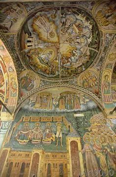 19. Jahrhundert - Bulgarien, Kloster Trojan, Kirche /Foto