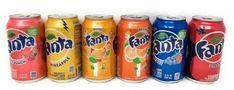 Secretos desconocidos de Fanta que posiblemente no habías escuchado (4 de 5) - Inspire Dot Coca Cola, Fanta Can, Carbonated Drinks, Fruit Punch, Macarons, Gourmet Recipes, Soda, Pineapple, Mango