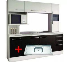 Mueble Cocina Compacta Napoles Sensacion - $ 4.599,00