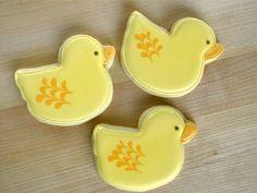 Baby Shower Sugar Cookies - Duck