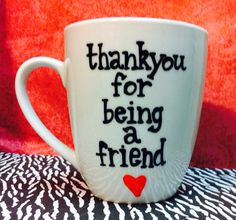 Golden Girls Coffee Mug - Thank you for being a friend- friend gift- coffee- Stay Golden on Etsy, $20.00