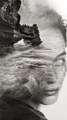 Double Exposure Portraits by Antonio Mora ile ilgili görsel sonucu Creative Photography, Portrait Photography, Levitation Photography, Surrealism Photography, Water Photography, Urban Photography, Color Photography, Photo Hacks, Double Exposition