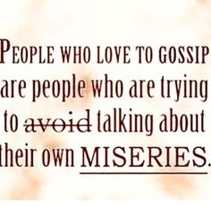 signs youre venting gossiping