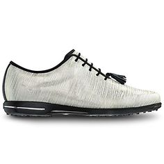 FootJoy Tailored Spikeless Golf Shoes 2016 Ladies GoldWhite Linen Medium 55 * Visit the image link more details. (This is an affiliate link) Spikeless Golf Shoes, Womens Golf Shoes, Shoe Manufacturers, Shoes 2016, Ladies Golf, Women Golf, Golf Accessories, Golf Fashion, Golf Outfit