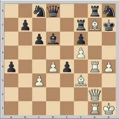 Attacking chess tactic