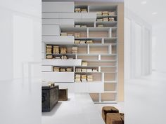 Line Shelving System by Albed - Via Designresource.co