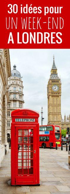 Camden Lock, Covent Garden, St James Park... 30 idées de choses à faire et à voir pendant un week-end à Londres !