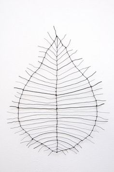 this looks like a leaf skeleton, in which the softer tissue decays first, leaving the tougher veins like lace
