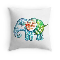 Elephant Love by @branchbeads  by Sarah Robertshaw on Etsy