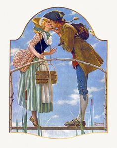 One of my favorites by Norman Rockwell