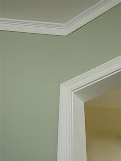 Like the colour: Saybrook sage from Benjamin Moore paints