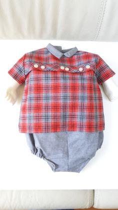 antiek pakje jaren50 nieuw uit deadstock baby 6 maanden terlenka katoen vintage babykleding old stock door Smufje op Etsy