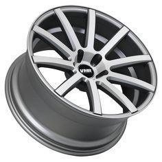VMR V702 18x8.5 ET45 Matte Gunmetal / Brushed Face Custom Wheel