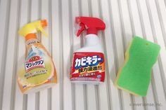 【お風呂の掃除】4種の汚れの落とし方と12ヶ所の掃除方法まとめ   コジカジ Spray Bottle, Cleaning Supplies, Cleaning Agent, Airstone