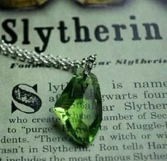 & For Slytherins &