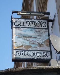The Tarmon, London, - Caledonian Road Restaurant Signs, Pub Signs, Name Signs, English Inn, Uk Pub, British Pub, Pubs And Restaurants, Old Things, Things To Sell