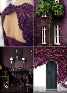 High Quality Emerald Green Interiors Plum Inspiration Corinne Kowal Was Foreseeing  Pantoneu0027s 2015 Marsala? #color
