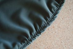 Excess Fabric at Folded Edge | Sew Your Own Swimwear