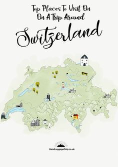 The Best Places In Switzerland: Your Ultimate 10-Day Travel Plan - Hand Luggage Only - Travel, Food & Photography Blog