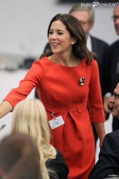 HRH Mary, Crown Princess of Denmark, Countess of Monpezat. Princess Marie Of Denmark, Royal Princess, Crown Princess Mary, Prince And Princess, Grace Kelly, Pretty Outfits, Stylish Outfits, Marie Chantal Of Greece, Mary Donaldson