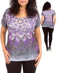 WOMENS PLUS SIZE TOP LARGE - X LARGE new no fees