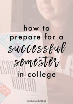 How To Prepare For A Successful Semester In College | Whether it's your first…