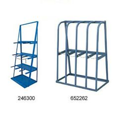 Vertical Bar Racks Store And Display Metal And Lumber For Applications  Including Industrial, Carpentry, Storage And More.