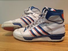 competitive price af007 37248 Original 1986 Vintage Adidas Patrick Ewing Basketball Sneakers US Men s  Size 11   eBay Patrick Ewing