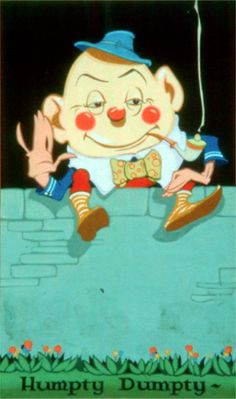 Vernon Grant's Humpty Dumpty Illustration from Mother Goose