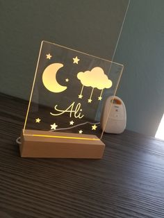 Teeba Rasheed added a photo of their purchase Star Night Light, Friday Night Lights, Stars At Night, Cute Night Lights, Cardboard Crafts Kids, Diy Crafts For Kids, Gifts For Kids, Laser Cutter Ideas, Laser Cutter Projects
