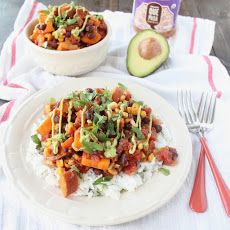 Mexican Chipotle Sweet Potato Casserole