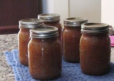 Pear Relish Recipe - Great as an appetizer poured over cream cheese served with crackers.