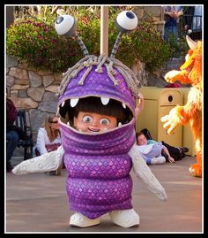 halloween tutorial boo monsters inc costume i need to make this for malia - Monster Inc Halloween Costumes Boo