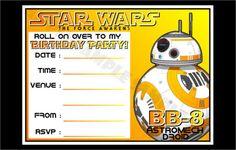 Yellow-Coloured-BB-8-Star-Wars-Birthday-Party-Invitations.jpg (585×372)