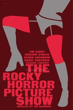 Praps something similar a really stylized version of an iconic show The Rocky Horror Picture Show