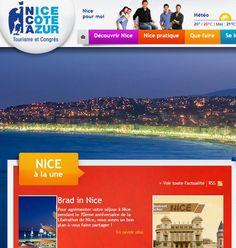 Office du Tourisme et des Congrès de Nice Côte d'Azur http://www.nicetourisme.com/