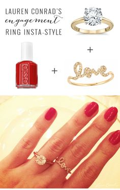 How To Get Lauren Conrad's Engagement Ring Style