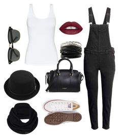 """Untitled #63"" by federica-termini ❤ liked on Polyvore featuring H&M, Burberry, Ray-Ban, Talula, Converse and prAna"