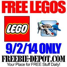 FREE LEGO Racing Plane