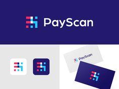 REALLY nice branding colours inspo. Branding Logo Design, Tech Branding, Tech Logos, Brand Identity, Identity Design, Corporate Branding, Monogram Logo, Initial Logo, Logo Intelligent